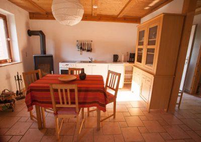 Ferienwohnung Radüns, Küche
