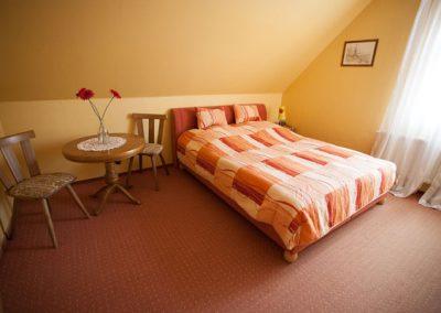 Ferienwohnung Gasthaus zum Rundling,Schlafbereich