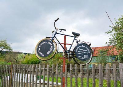 Gasthaus zum Rundling Radfahrer Willkommen