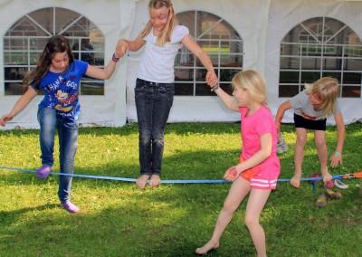 Slacklining zum Kinderfest