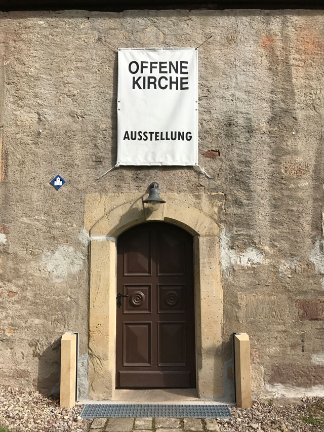 St. Nikolaus Kirche Eingang