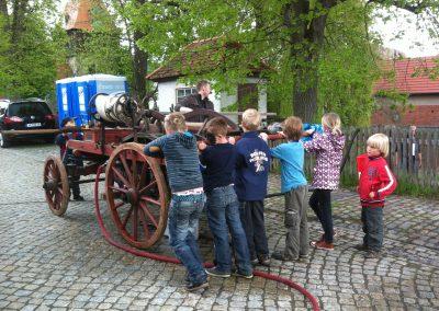 Alte Feuerwehr zum Kinderfest