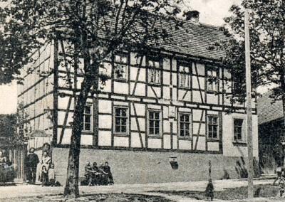 """Haus Nr. 37 - Von 1872 bis 1954 """"Gastwirtschaft Oelsner"""""""
