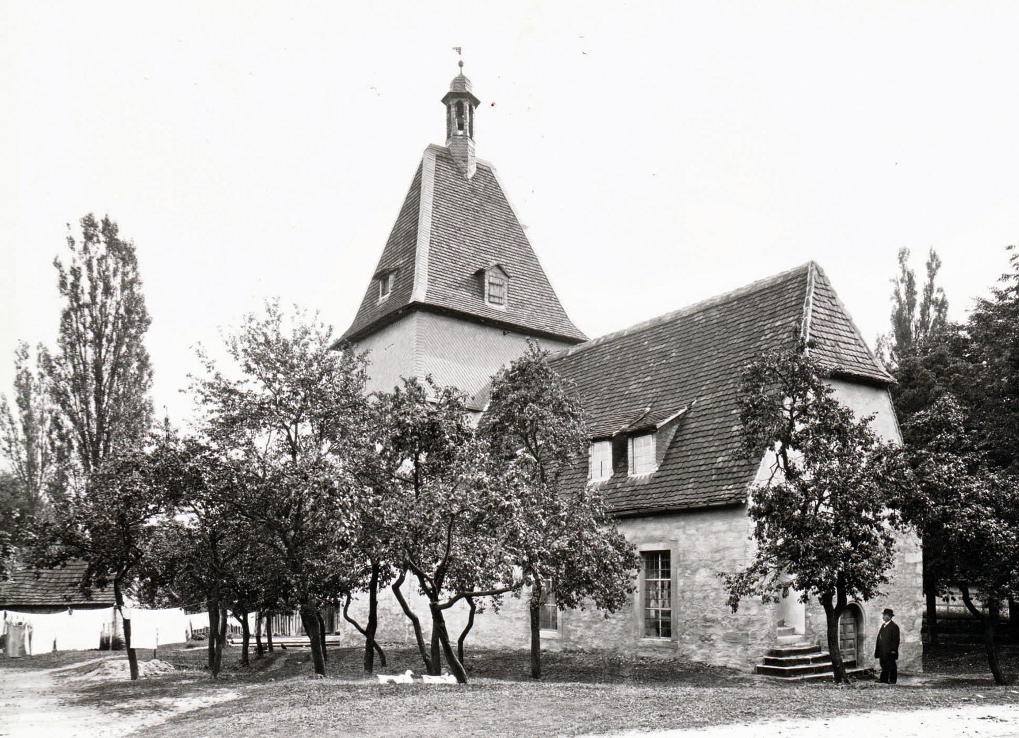 St. Nikolaus Kirche früher
