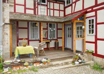 Ferienwohnung Schäfer, Eingang